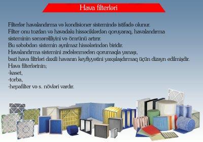 HAVA FİLTERLƏRİ